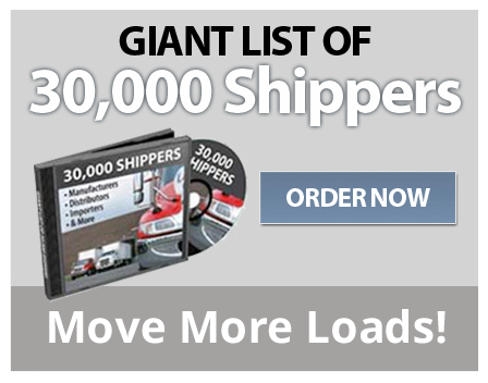 Directory of 30,000 Shippers